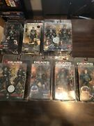 Gears Of War Neca Action Figure Lot 2-pack, Toys R Us Exclusives And More 7 Lot
