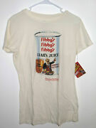 Wacky Packages Fibby's Liar's Juice Ladies' Xl T-shirt Topps Licensed Rare