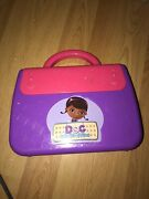 Disney Doc Mcstuffins Vtech Write And Learn Doctorandrsquos Toy Bag Laptop Tested Works