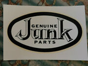 Original Vintage Water Decal Genuine Junk Parts Hot Rod Muscle Car Auto Truck V8