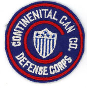Ww2 Wwii Us Home Front Continental Can Company Defense Corps Mispelled Variation
