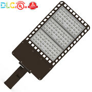 240w 300w Led Car Lot Light For Round Square Pole, Wall Mounted Floodlight 5000k