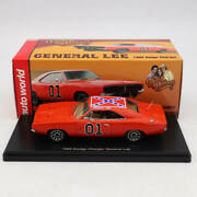 Auto World 143 Dodge Charger General Lee 1969 Red Awrss1151 Limited Edition