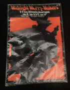 Nip New Old Stock Halloween Decorations Silhouette Midnight Merry Makers Vintage