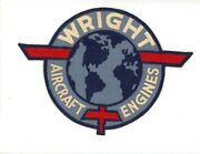 Ww2 Wwii Us Aircraft Manufacturer Curtiss Wright Large Overall Size Patch