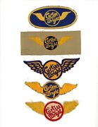 Ww2 Wwii Us Aircraft Manufacturer 5x Curtiss Wright Wings Different Variations