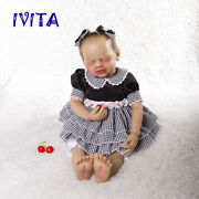 Reborn Baby Girl Dolls 22 Newborn Silicone Root Hair Baby With Skeleton Toy