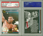 Vintage Psa 9 Mike Tyson 1991 Players International Ringlords Promo Card Mint