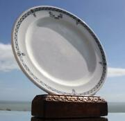 White Star Line Rms Olympic Era Pattern 2nd Class Dinner Plate 1920and039s