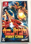 Fight Crab Brand New Nintendo Switch Game Physical Japanese Import Us Seller