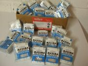 Vintage Milbro / Mustad Packaged Hooks To Nylon 1000's Off  Unique N.o.s.
