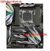 For Msi Meg X299 Creation X299 Motherboard Supports I9-10980xe 100 Test Work