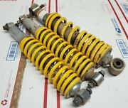 1988-06 Yamaha Blaster Yfs200 Complete Front And Rear Shocks Oem