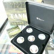 2010 Tuvalu Tanks Of World War Ii Silver Proof Coin Set
