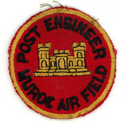 Ww2 Wwii Us Army Muroc Air Field Post Engineer Patch Ssi Seen 2-3