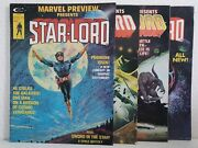 Marvel Preview 4 11 14 15 Marvel Comics 1976 First Appearance Star Lord Rare