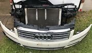 2004 2005 Audi A8l Front Bumper Assembly And Radiator Header Panel Core Support