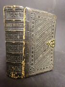 1894 Rare Bible W Female West Point Cadet Katie Whaley Personalized In Back Page