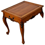 Vintage Nightstand Spencer Furniture French Country Drawer Occasional Lamp Tab