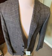 1,895 Canali Sportcoat Us 44l Eu 54 Hand Made In Italy