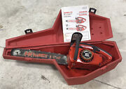 Homelite Xl Chainsaw With Bar And Chain Andbull For Parts/repair