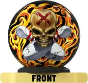 On The Ball William Webb Skull And Cross Funball - Bowling Ball Spare