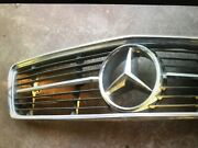 Mercedes W107 280 350 450 420 500 380 560 Sl Rare Grill With Solid Metal.star
