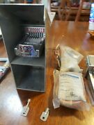 Greenwald V8 Vertical 5 Coin Slide With Coin Box Keys Extra Slide And New Parts