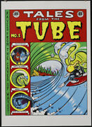 Rick Griffin Tales From The Tube Silkscreen Poster Comic Book Cover Mint Zap