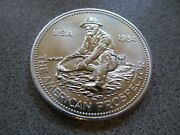 1984 Engelhard The American Prospector 1 Troy Ounce .999 Silver Round Proof