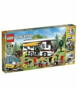 Lego Vacation Getaway 31052 Camper Rv House Boat Camping New - Retired