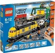 Lego New 7939 Cargo Freight Train 4 Minifig Driver Tanker Auto Flatbed Carrier