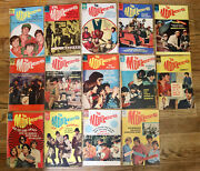 The Monkees Vintage Dell Comic Book Lot Of 14 Distress 1967-68