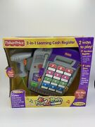 Brand New Old Stock Fisher Price Fun 2 Learn Cash Register Free Shipping
