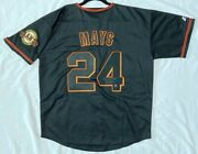 Majestic Lg. Willie Mays San Francisco Giants Holo Authenticated Signed Jersey