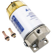Fuel Filter Water Separator For S3227 Outboard Ships 60gph/227lph Max Flow Rate