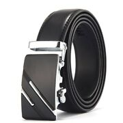 Belt Men Top Quality Genuine Luxury Leather Buckle Casual Automatic High Layer