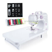 Mini Sewing Machine-12 Stitches Household Multifunction And Speed Free-arm Led