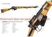Exposed Poster Lee Enfield Smle Gun Rifle British Empire 303 Wwi Ww1 Print Art
