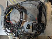 Mercury Mariner Concealed Mount Controls With Cables And Harness Trim