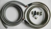 1996-00 Civic 4dr Sedan Replacement Ss Fuel Feed Line And Rubber Return Line