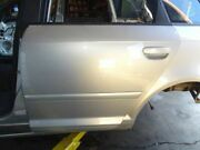 06 Audi A3 Type 8p Rear Left Driver Side Door Shell Assembly Silver