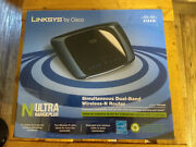 Linksys Simultaneous Dual-band Wireless-n Router - Linksys Wrt400 New