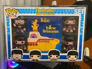 Funko Pop The Beatles Yellow Submarine Collector's Set 4 Pack + Hardstack Rare