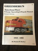 Greenberg's American Flyer S Gauge Operating And Repair Manual Signed By Author