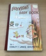 Berenstains Baby Book Stanly And Janice Vintage 1951 Signed Book