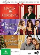 Crown For Christmas + A Christmas Melody + Itand039s Christmas Eve Region Free Dvd