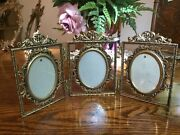 Triple Hinged Picture Frame