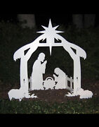 Holy Night Outdoor Nativity Set A N1