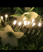 20 Battery-operated Led Micro Christmas Lights Micro Warm Whiteas